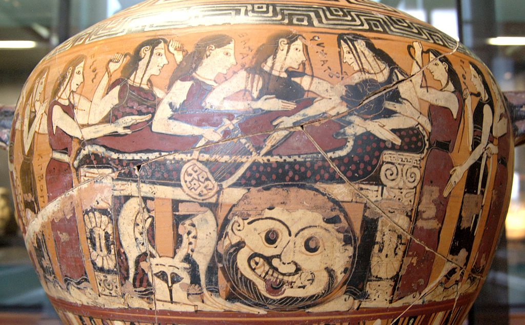 Mourning of Akhilleus Louvre