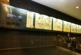 Ancient Greece revived in Chile's metro station 4