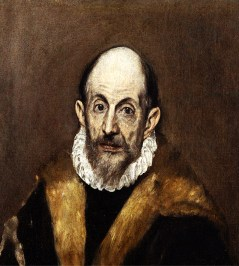 El Greco - Portrait of a Man