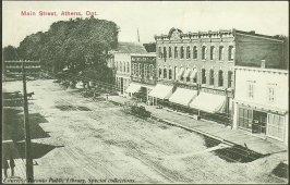 Main Street, Athens, Ontario, Canada (1910)