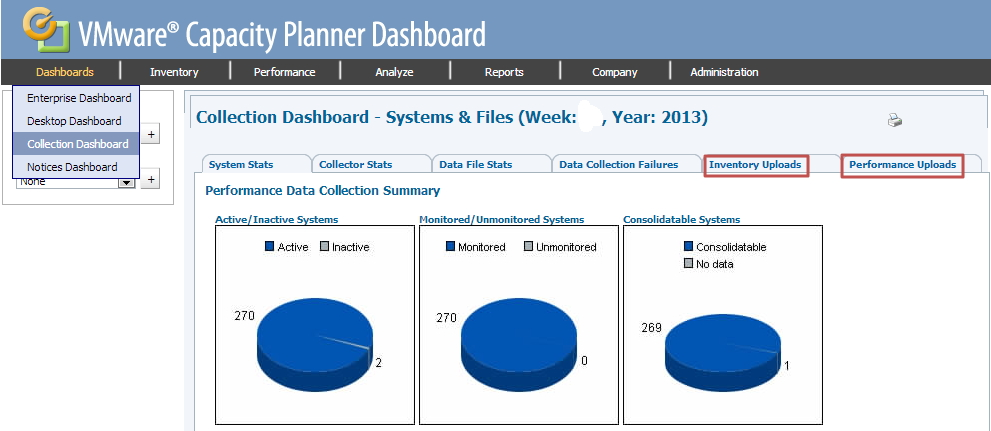 How to deploy vmware capacity planner properly part ii for What is a planner dashboard