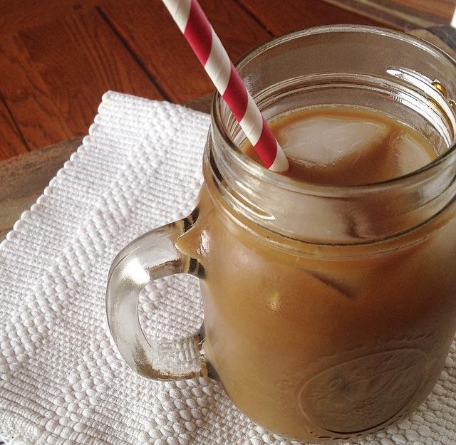 Honey-Almond Iced Coffee