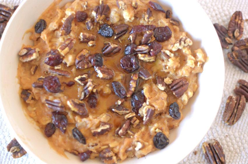 sweet potato spice oatmeal 5