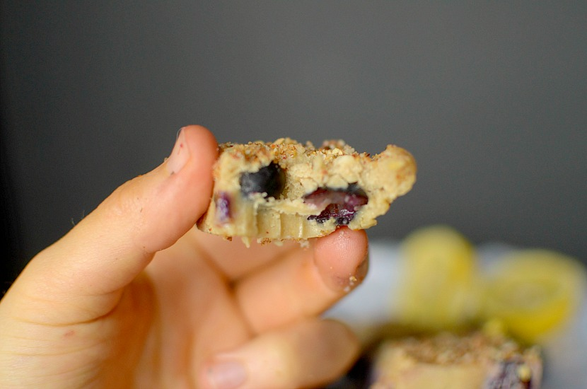Do you love blueberry muffins? Then make this easy fudge recipe that taste like lemon-blueberry muffin batter! Super simple to make and healthy! Also vegan, paleo and gluten-free!