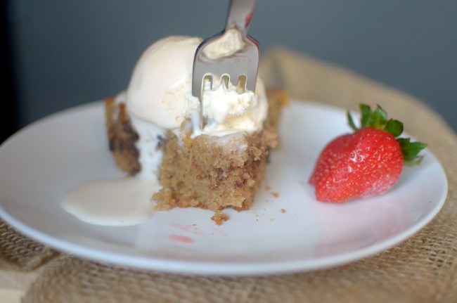 Roasted Strawberry Chocolate Chunk Skillet Cookie 1