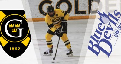 Men's Hockey Hosts UW-Stout Saturday After 27-Day Winter Break - Posted on January 6th, 2017 by ...