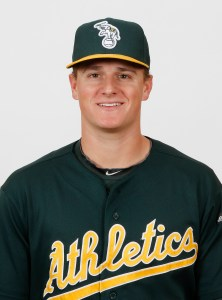 A's minor league home run leader Matt Chapman