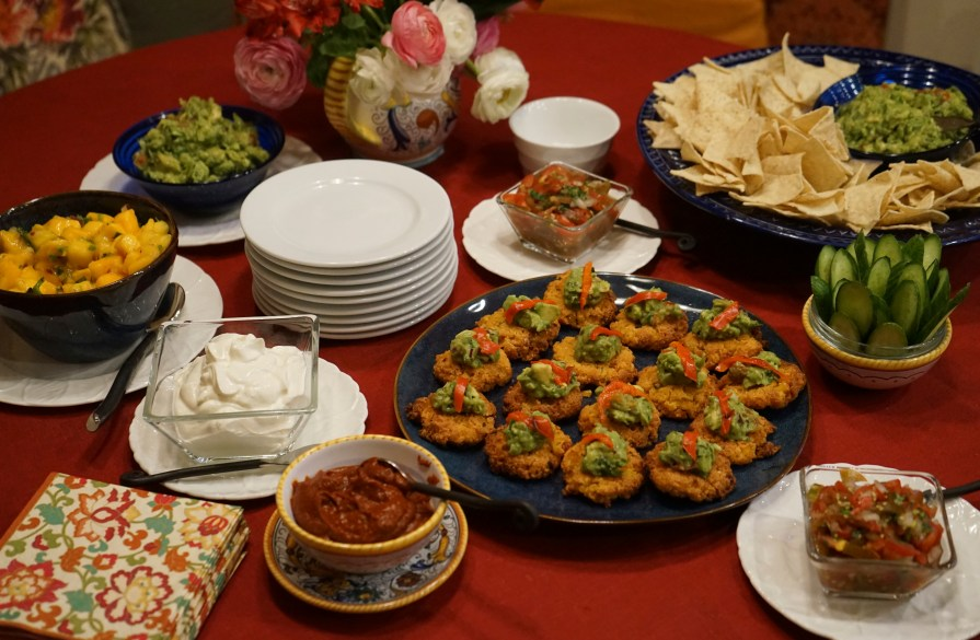 Mexican Fiesta: Appetizer Table