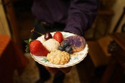 Almond Merignue, Pignoli and Crisp Sugar Cookies (Apps & Alcohol Party)