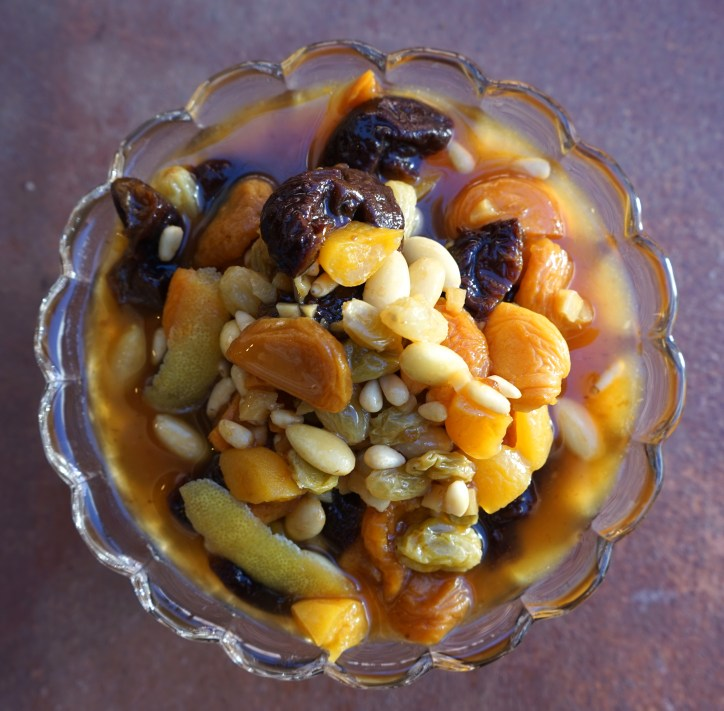 Dried Fruit Compote (Moroccan Feast)