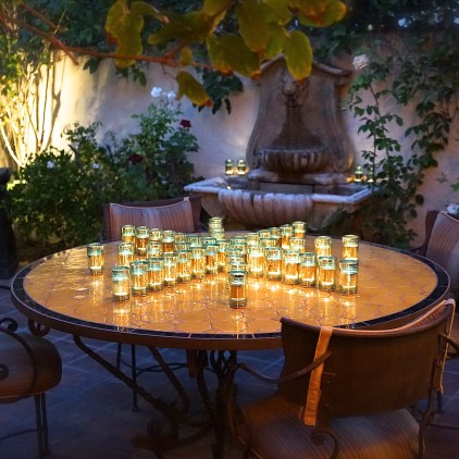 Moroccan Feast: Courtyard