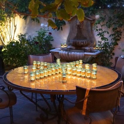 Moroccan Feast: Courtyard