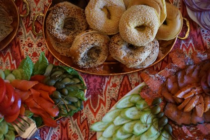 Smoked Fish Platters (New Year's Day Brunch)