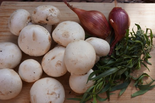 I omit adding flour to this mushroom chasseur sauce because it's lighter and healthier.