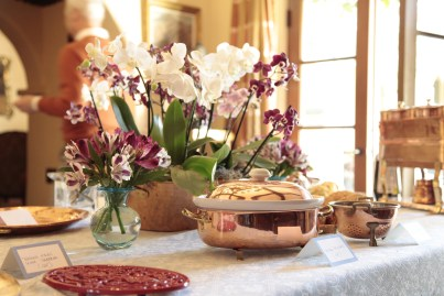 I thought of my wishes for the year as I arranged the orchids, chose the dishes, designed the table settings and created the menu.