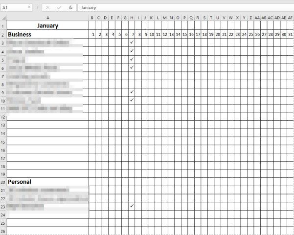 Daily-Task-Checklist