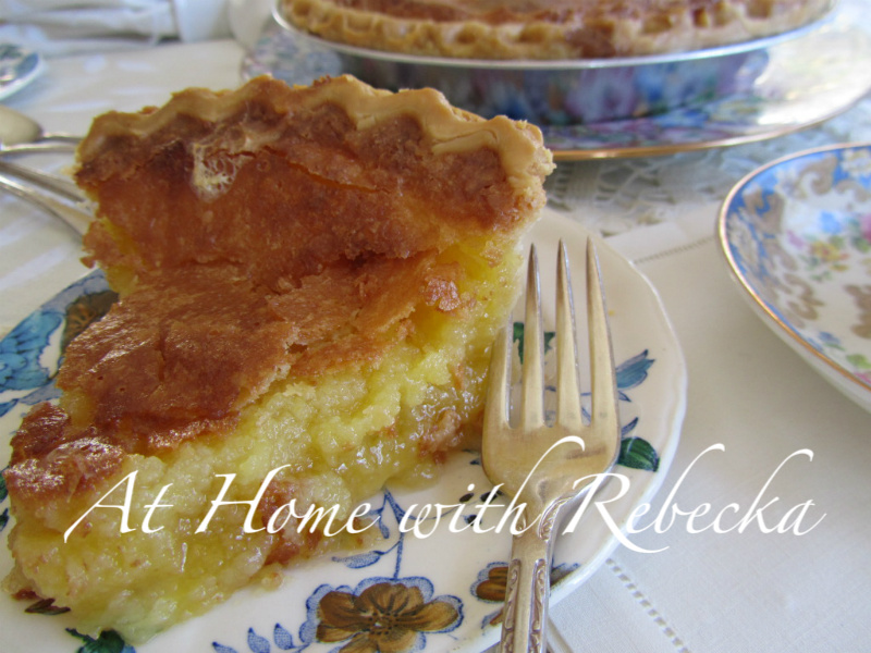 Butter Chess Pie...#3