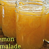 Lemon Marmalade-Canning for Christmas