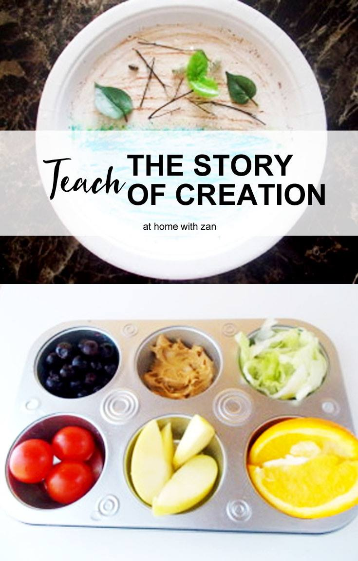 Teaching Bible Stories to Children - Creation Crafts with Snack ...