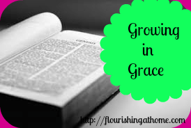 Growing in Grace Series: Taking Baby Steps to Grow