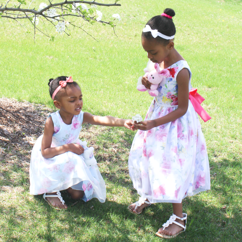 Kids Fashion - Clothing - Little Girls Formal Dresses - At Home With Zan