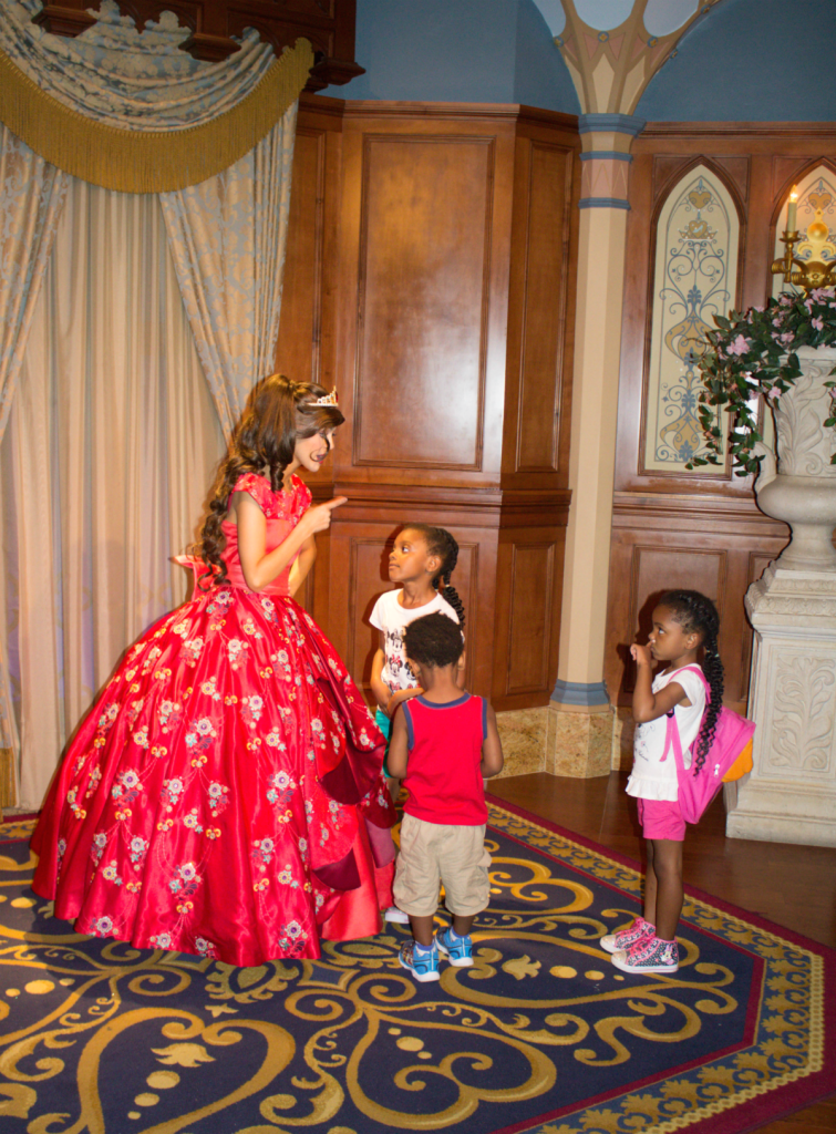 Orlando Vacation - Disney's Magic Kingdom Park - Princess Elena and the Kids - At Home With Zan