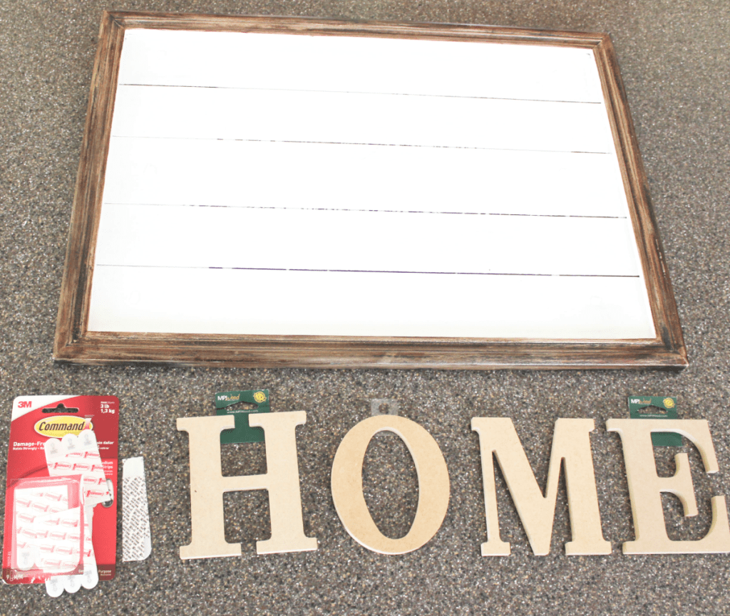 DIY Home Decor Sign - Decorative Sign - At Home With Zan -