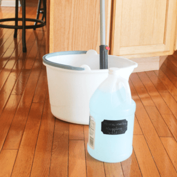 Homemade - Mopping Solution - At Home With Zan-
