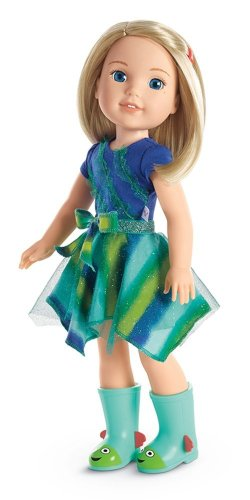 American Girl Doll Clothing and Accessories -14.5 Wellie Wishers Dolls - WellieWishers - Camile - Holiday Gift Guide - Holiday Gifts for 3-5 Years Old - At Home With Zan