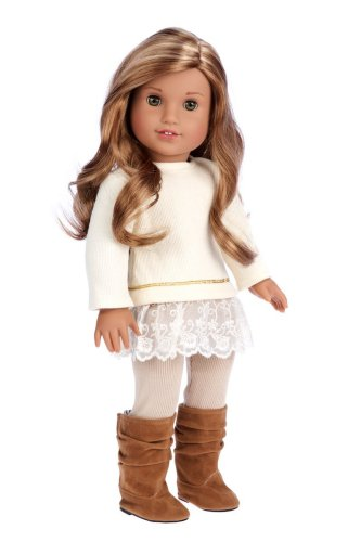 Dolls - 18 inches - Holiday Gift Guide - Holiday Gifts for 3-5 Years Old - At Home With Zan