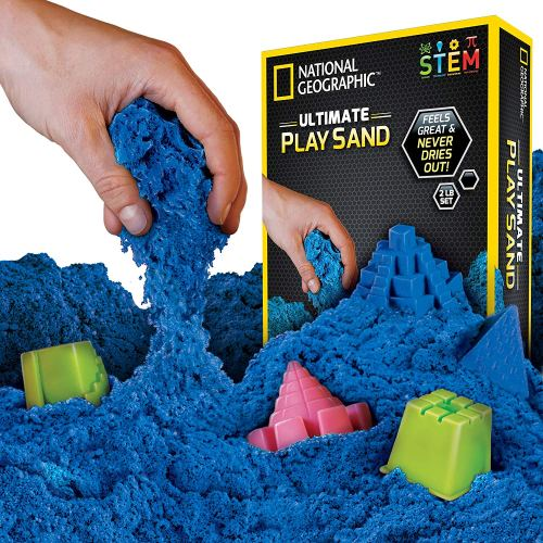 Kinetic Senory Sand - Holiday Gift Guide for 3-5 Year Olds - At Home With Zan