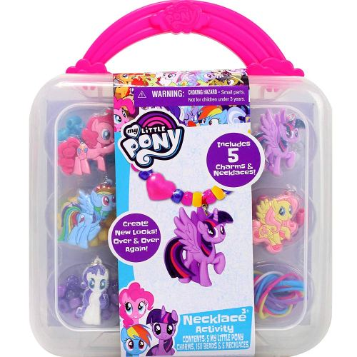 My Little Pony Necklace Activity Set - Holiday Gifts for 3-5 Years Old - At Home With Zan