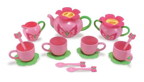 Tea Party Set - Holiday Gift Guide for 3-5 Year Olds - At Home With Zan