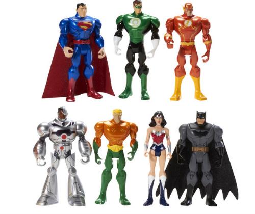 Justice League Target action figures