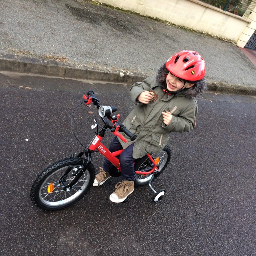 Oh mon vélo, oh, oh, oooooooooh !