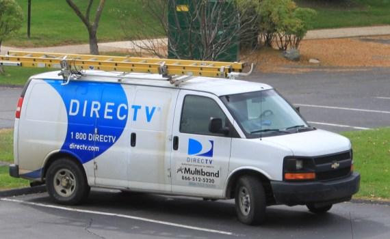 DirectTV_service_van_Ypsilanti_Township,_Michigan