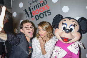 Disney and Minnie Mouse #RockTheDots!