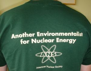 Another Environmentalist for Nuclear Energy