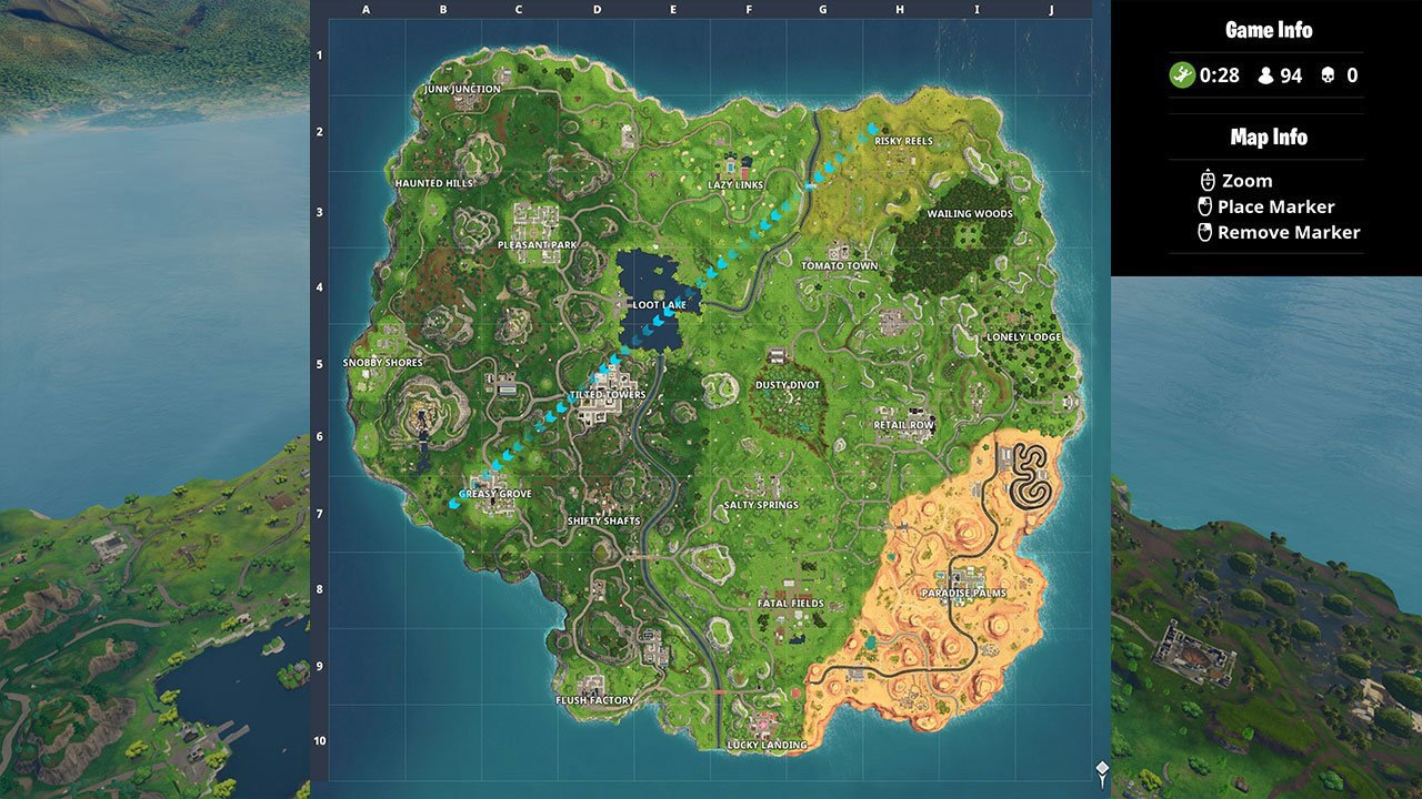 Fortnite  Battle Royale Map Changes With Season 5   Attack of the Fanboy Fortnite  Battle Royale Map Changes With Season 5