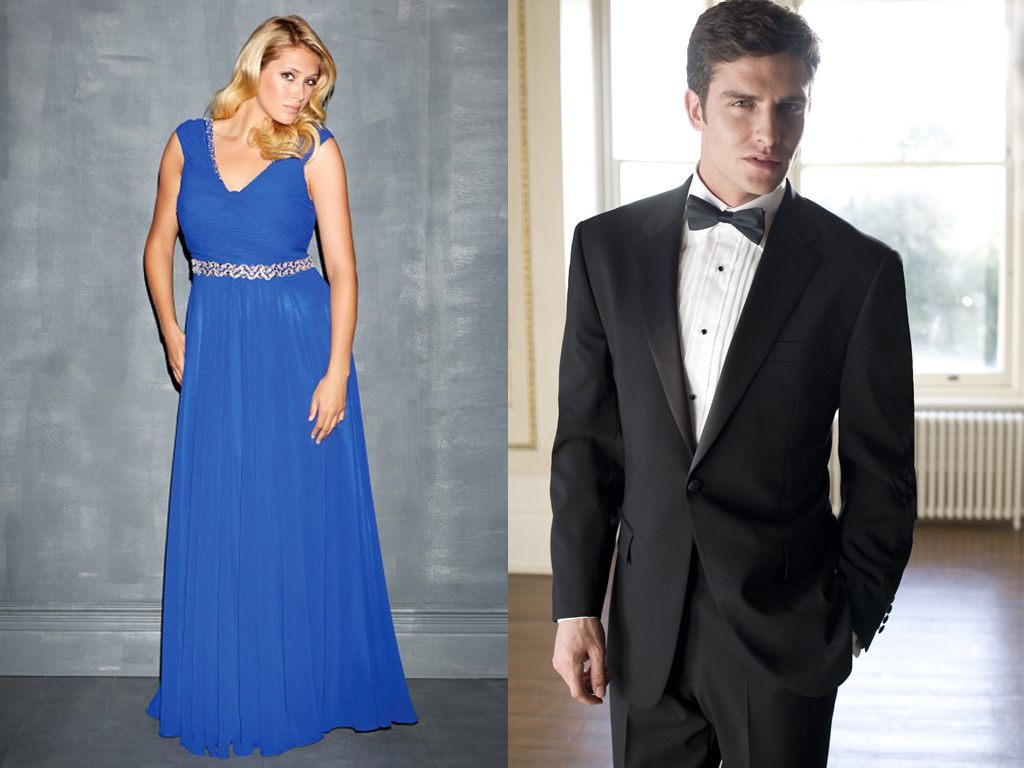 Matching Prom Dresses And Suits - Evening Wear
