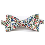A bow tie can complete a simple outfit