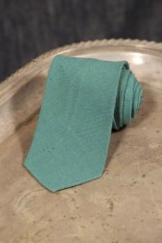Vintage 1920's - 1930's Green Tie