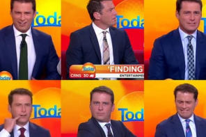 TV host wears the same suit for a year: Who noticed?