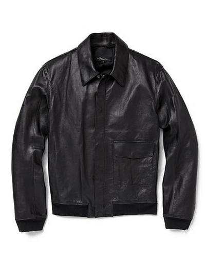 3.1 Phillip Lim Zip Front Aviator Jacket
