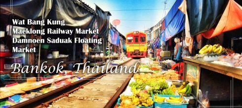 曼谷美功鐵道市集 丹能莎朵水上市集 樹中廟 魅力曼谷一日遊 kkday