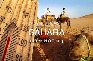 40度的撒哈拉沙漠 穿搭術+必備抗暑聖品 6-8月的極熱旅行