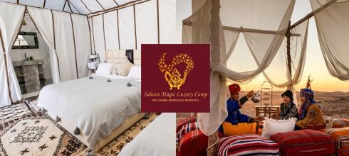 摩洛哥撒哈拉沙漠 2019 歐美IG網紅最愛 撒哈拉魔力奢華帳篷營區