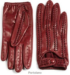 Portolano - Stitched Leather Driving Gloves