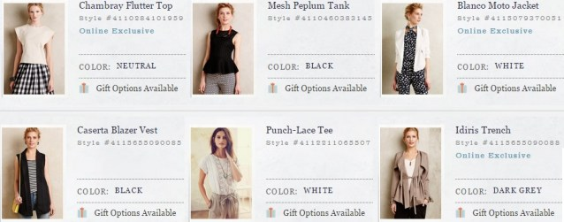 Anthropologie Tops and Jackets - SS 2015