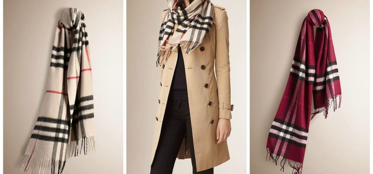 Wardrobe Wish List :: The Classic Burberry Cashmere Scarf